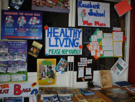 Healthy Living Display Teaching Snapshot Technology