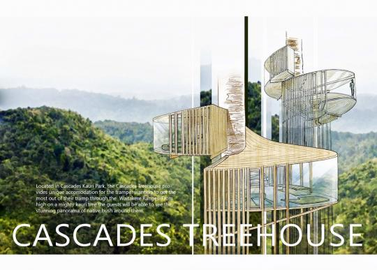 Cascades treehouse design