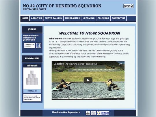 No.42 Squadron website home page