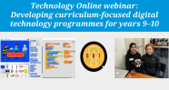 Developing curriculum-focused digital programmes for years 9–10