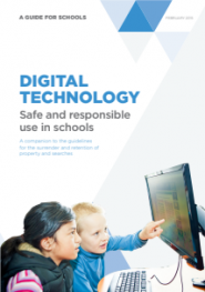 Digital Technology: Safe and responsible use in schools