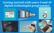 Getting started with years 9 and 10 digital technologies programmes
