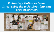 Integrating the technology learning area in primary
