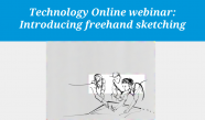 Introducing freehand sketching