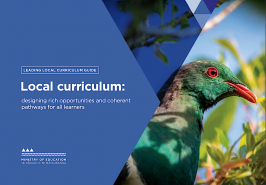 Local curriculum guide cover.