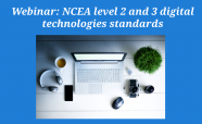 NCEA levels 2 and 3 digital technologies standards