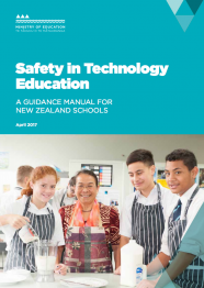 Safety in technology education guidelines cover