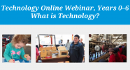 Technology Online webinars for primary
