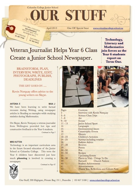 Write an article for your school magazine about your club