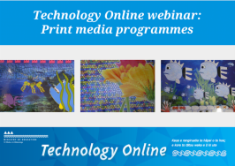 print media programmes presentation slide 1