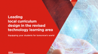 Cover of local curriculum design in the revised technology learning area guide