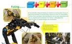 St Peter's newsletter page about work on a robotic arm