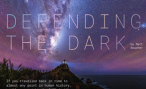Front page of article with the night sky