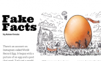Front page of article with drawing of an egg