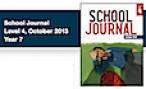 Cover of the School Journal, Level 4, October 2013