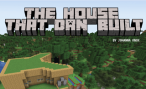 Front page of journal article with Dan's Minecraft house